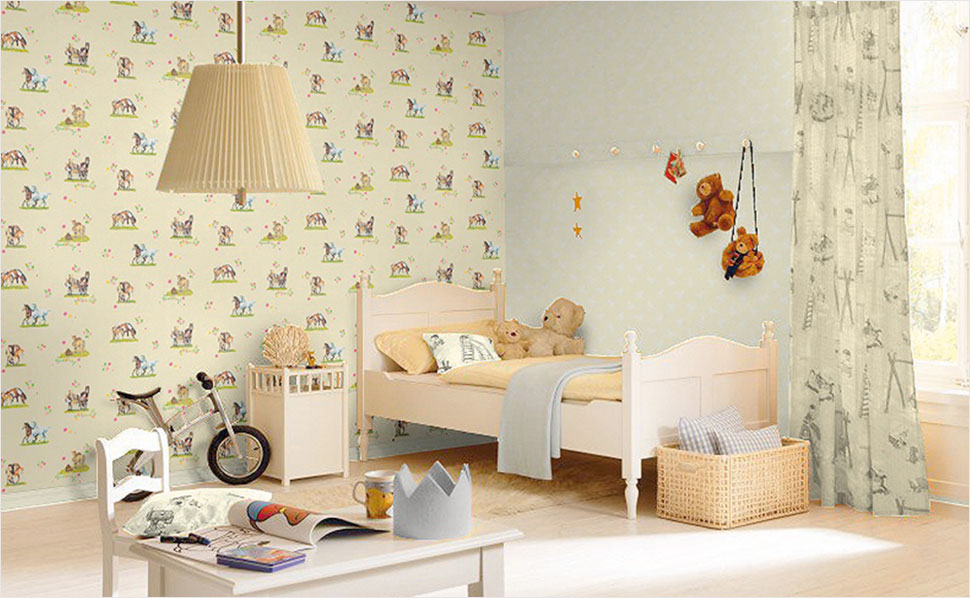 16 Brilliant Kinderzimmer Tapete