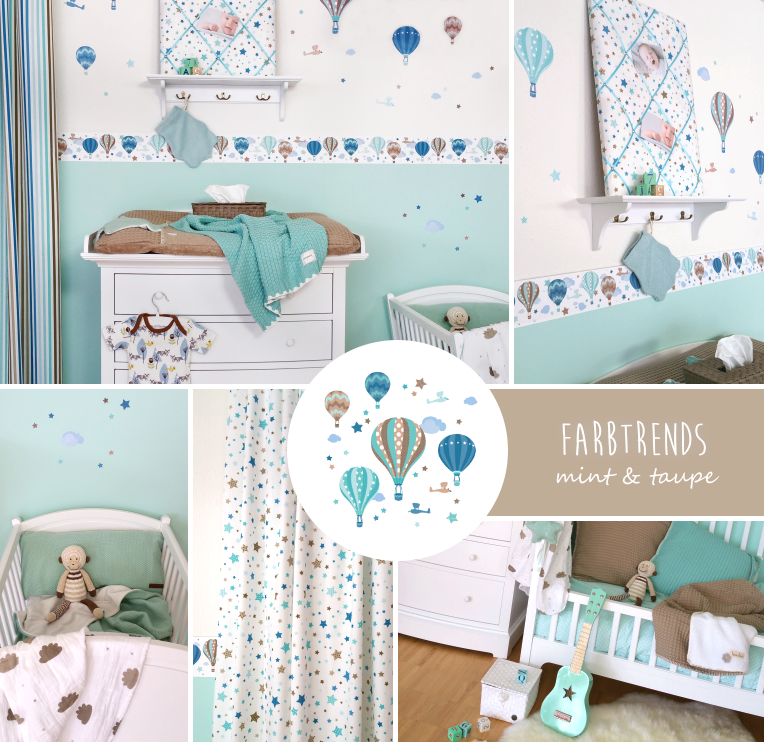 Farben Kinderzimmer Neutral