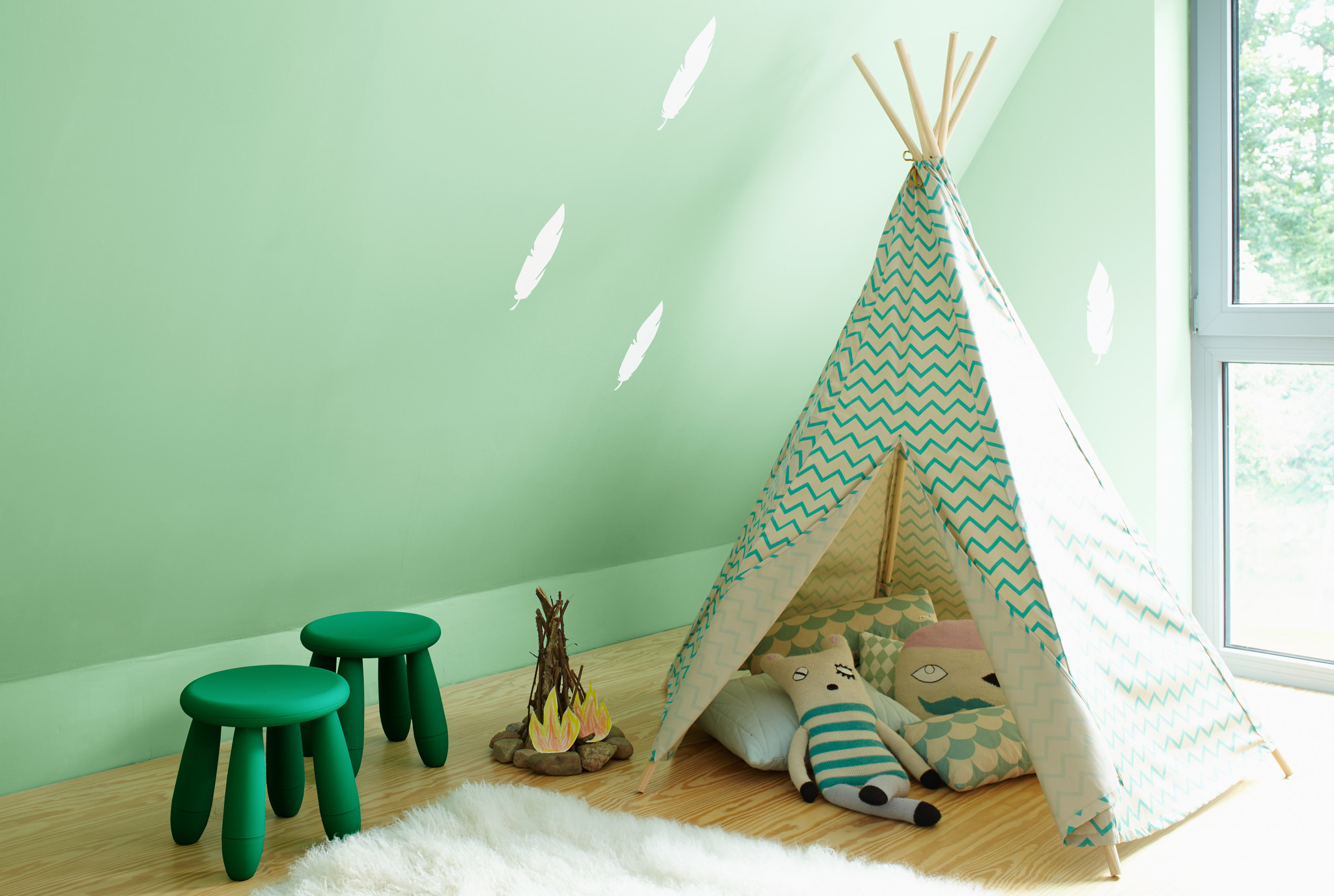 68 Brilliant Kinderzimmer Wandfarbe