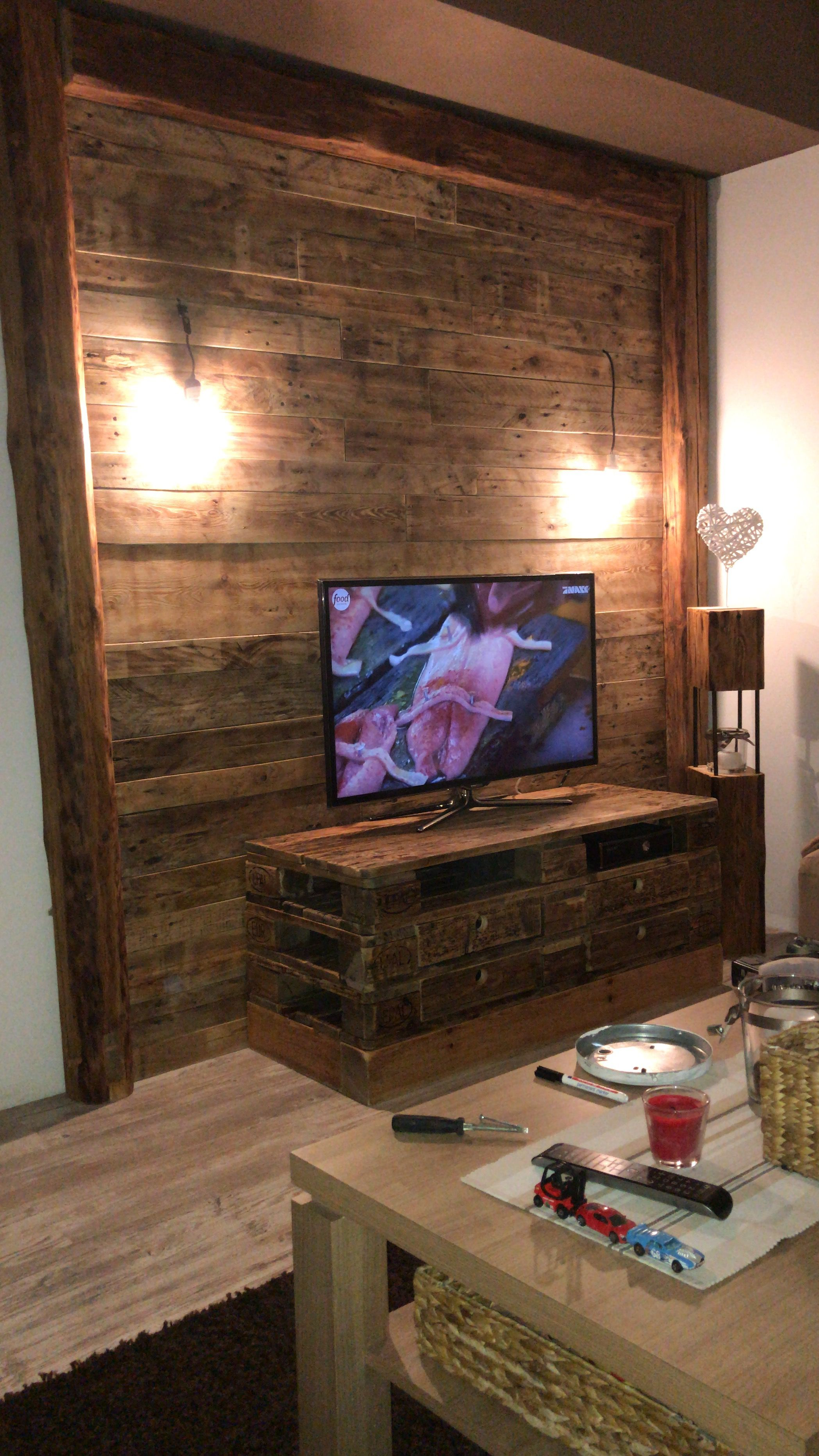 85 Top Wohnzimmer Wand Altholz