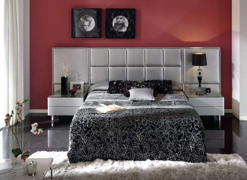 34 Cool Rot Grau Schlafzimmer