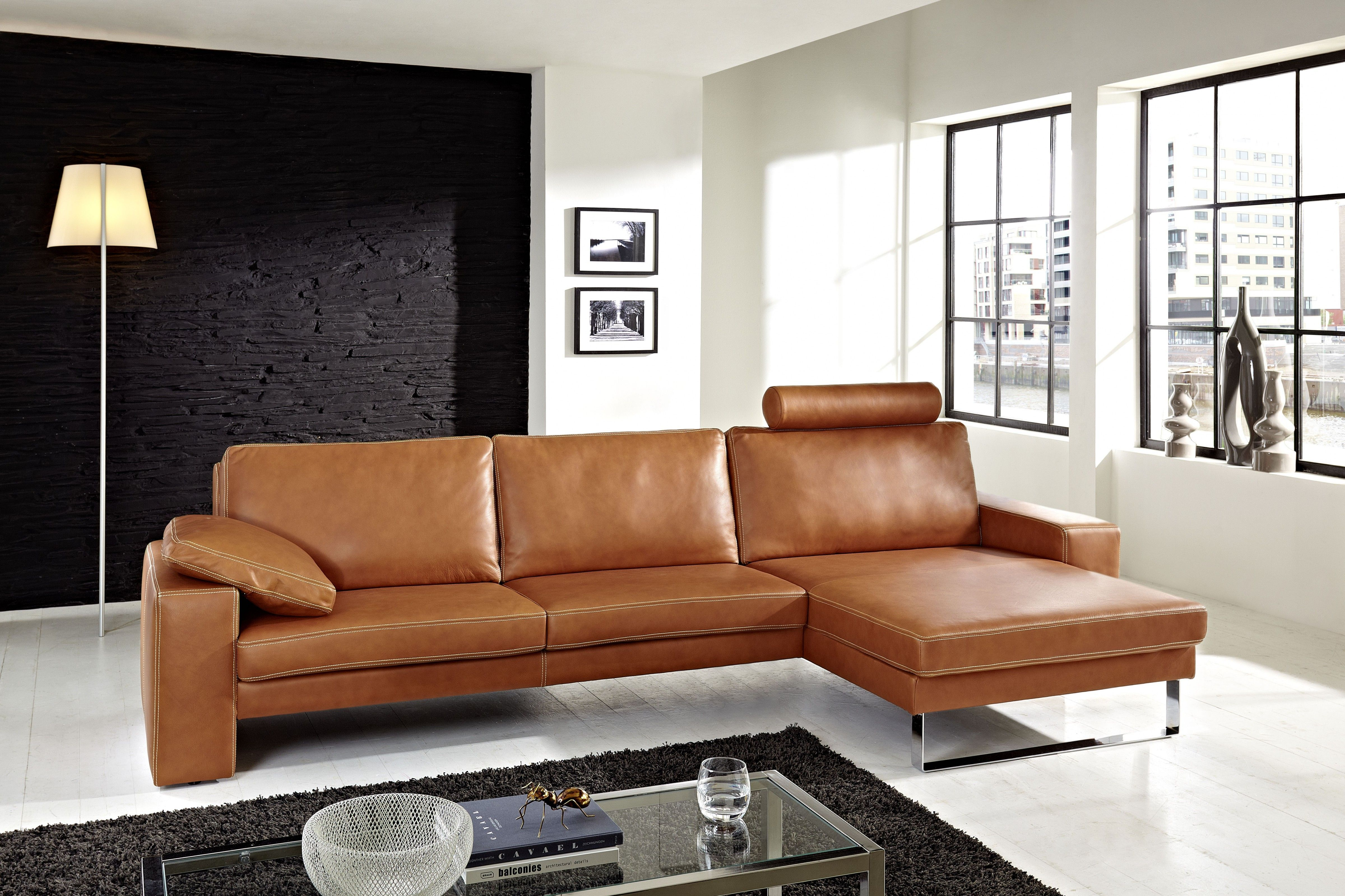 Image Result For Cognac Sofa Welche